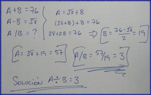 Solución matemática de ancase